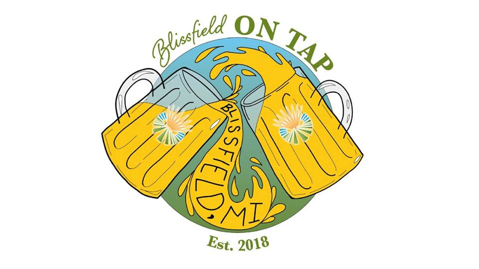 Blissfield On Tap Logo
